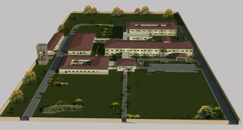 Taloqan Hospital, Afghanistan